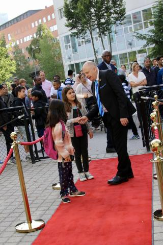 IES Kista rolls out Red Carpet for Students