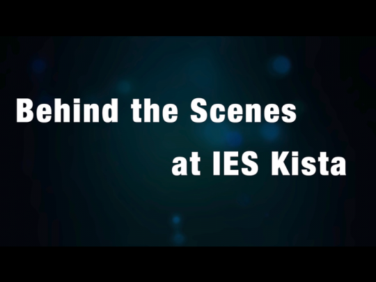 Behind the Scenes at IES Kista: The Dish Room